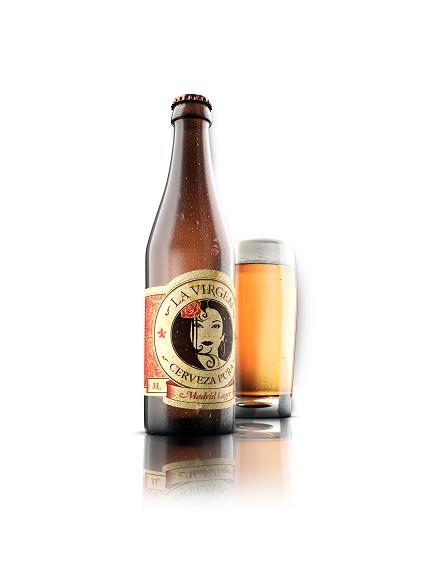 Cerveza LA VIRGEN Madrid Lager (Pack 6 Uds.)