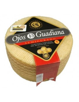 Queso ojos del Guadiana Semicurado