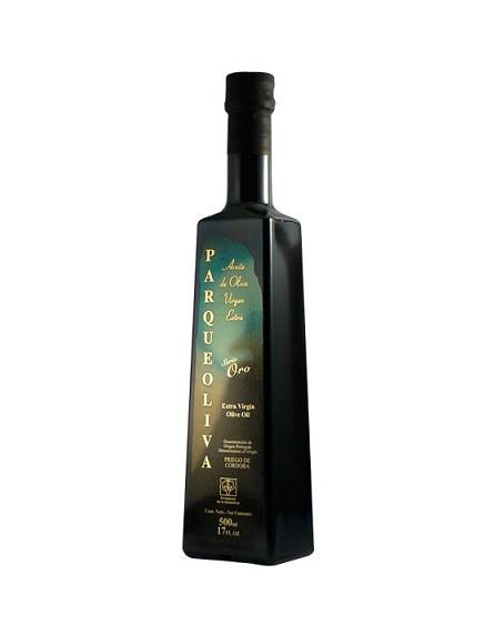 Aceite de oliva virgen extra Parque Oliva, Serie Oro