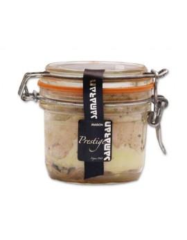 Foie gras de pato entero con trufa