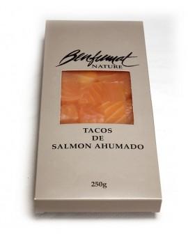 Tacos de Salmón Ahumados