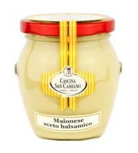 Mayonesa con vinagre balsámico de Modena IGP
