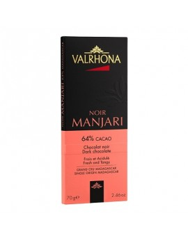 Noir Manjari 64% cacao (Chocolate Negro) Valrhona