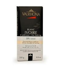 Chocolate blanco para repostería 35% Blanc Ivoire