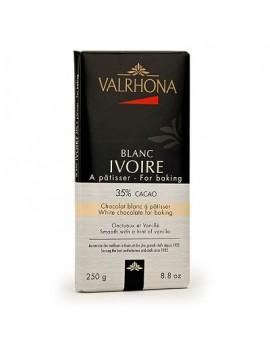 Chocolate blanco para repostería 35% Blanc Ivoire - Valrhona