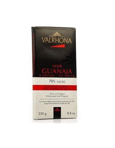Chocolate con leche para reposteria 70% Cacao noir guanaja - Valrhona