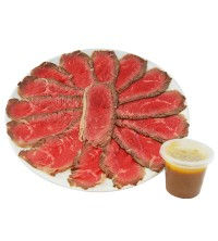 Plato de Roast-beef (lomo bajo) - Premium
