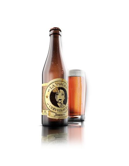 Cerveza LA VIRGEN Jamonera - Pack de 6 botellas (33cl)
