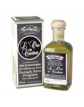 Aceite de Oliva Virgen Extra con Trufa Negra