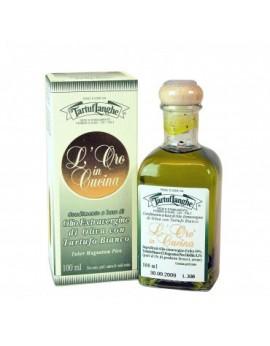 Aceite de Oliva Virgen extra con trufa blanca