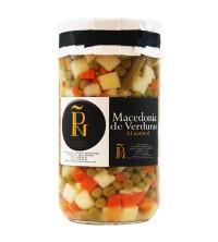Macedonia de Verduras al natural