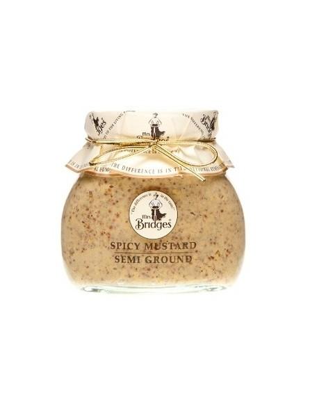 Mostaza en grano semi-picante
