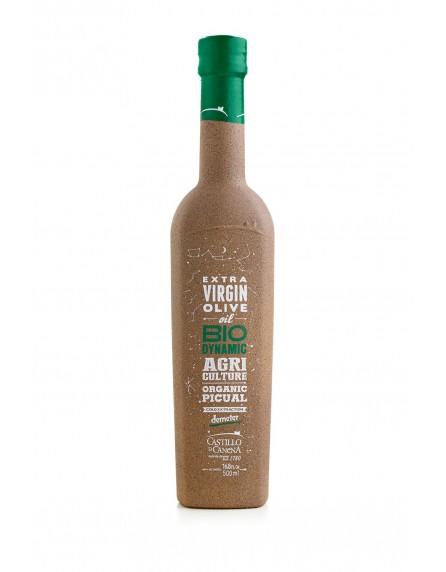 Aceite de oliva extra virgen biodinámico