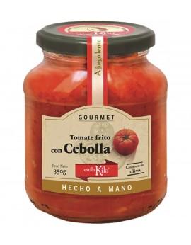 Salsa de tomate con cebolla