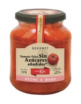 Salsa de tomate sin azúcar añadido