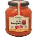 Salsa de tomate con salsa bolognesa