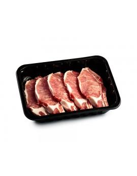 Chuletas Cerdo Ibérico (bandeja de 500g)