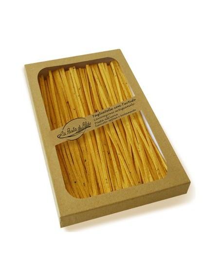 Tagliatelle - Fideos con trufa